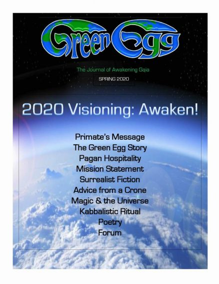 Green Egg Ostara 2020
